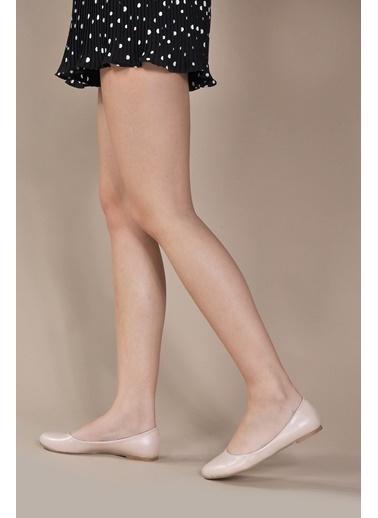 Vizon Ayakkabı Babet Ten